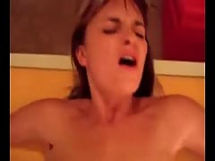 Naked chick gets cum facial videos